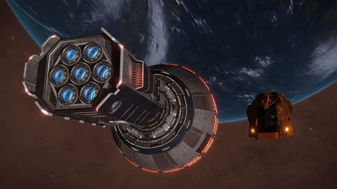 Elite's Distant Worlds 2 expedition: Building a starbase in the