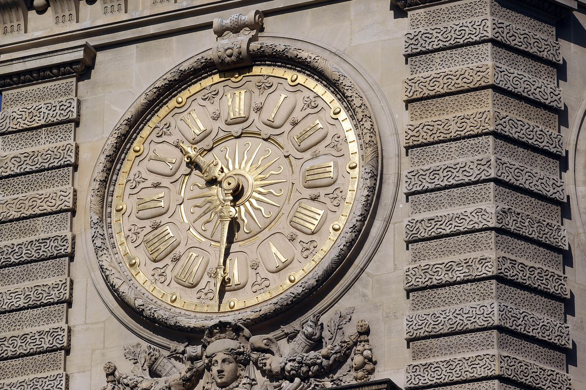 Paris Famous Clocks
