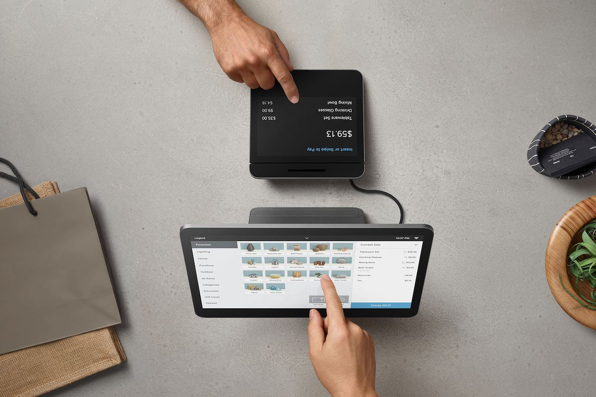 Square announces fully integrated high-end 'Square Register' with Apple Pay reader""