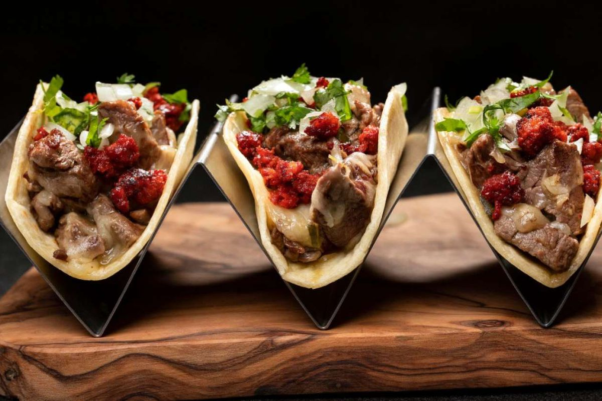 A trio of tacos coming to Diablo's Cantina at the Mirage.