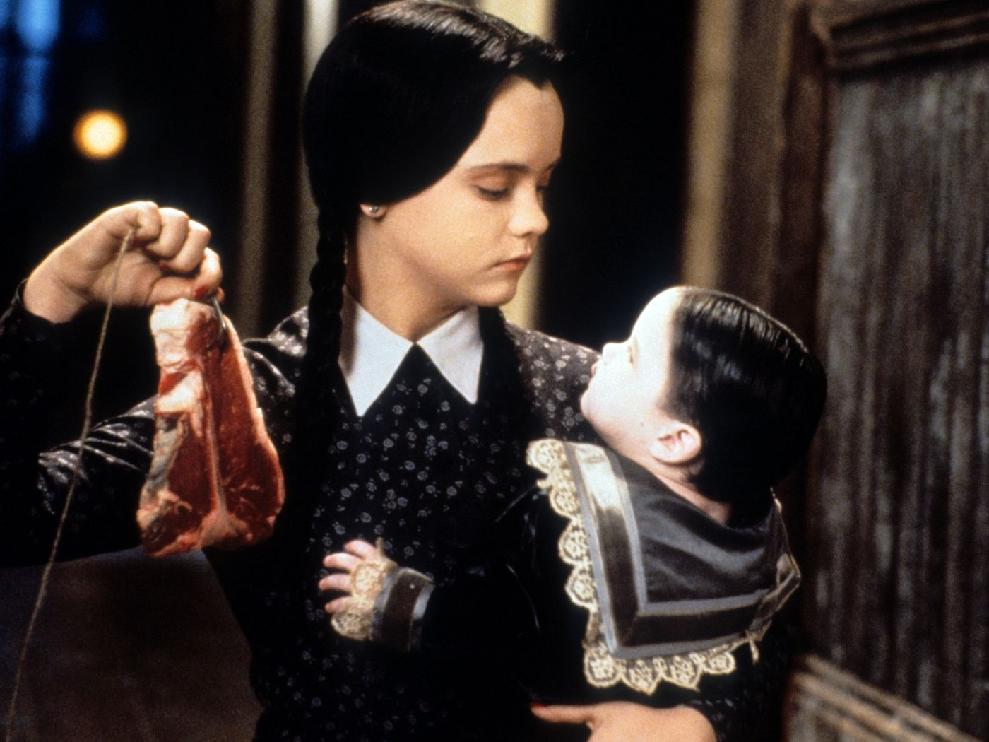 Wednesday's Thanksgiving Speech in 'Addams Family Values' Is Iconic - Eater
