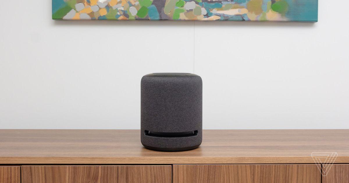 Amazon's new Echo Studio sounds like the future of smart speakers