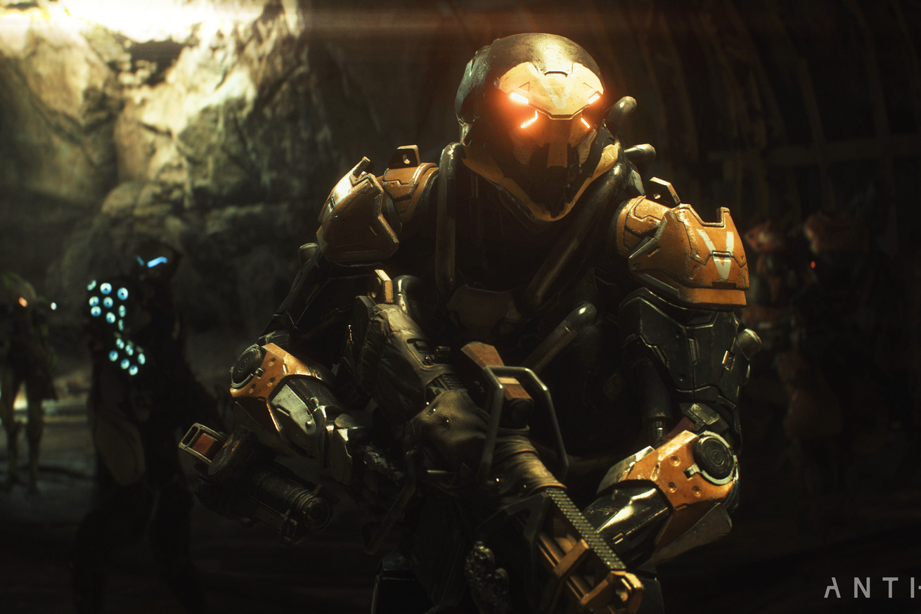 anthem is an attempt to blend bioware storytelling with destiny style action