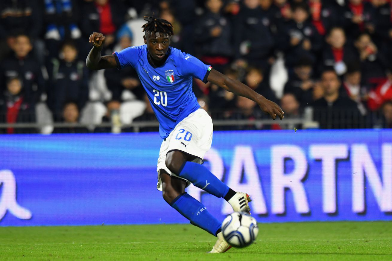 """Could Moise Kean actually play in Italy?s friendly against the United States"""""""