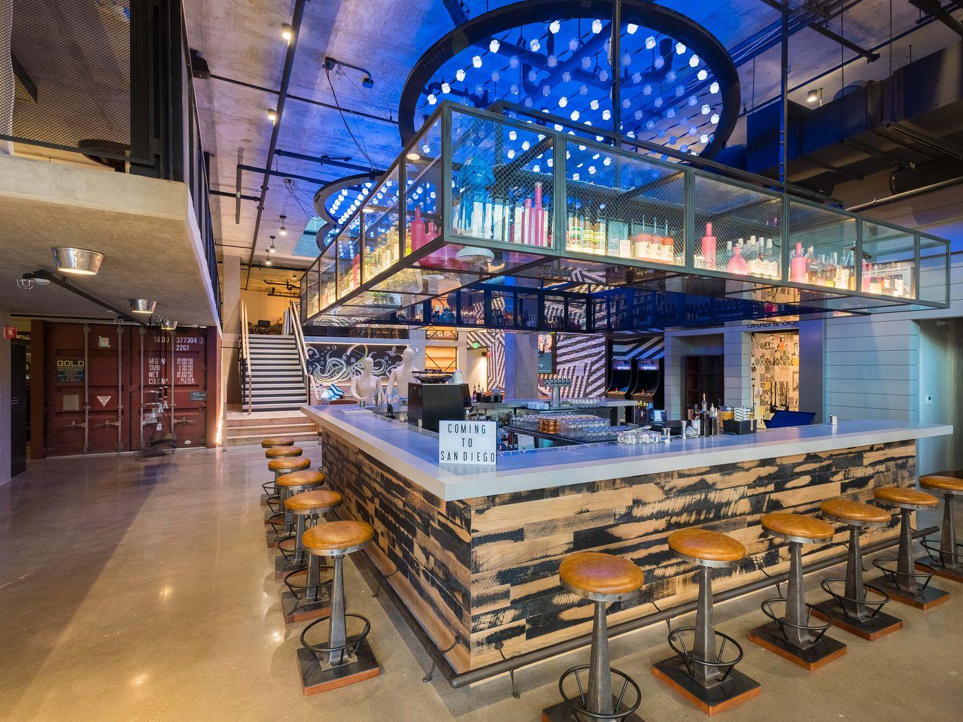 Downtown's Got a Groovy New Hotel Bar - Eater San Diego
