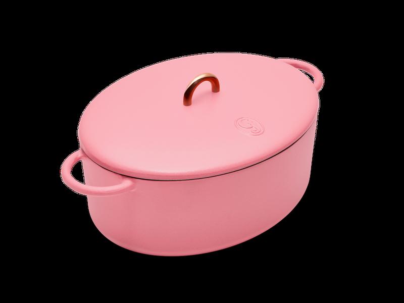 Pink dutch oven