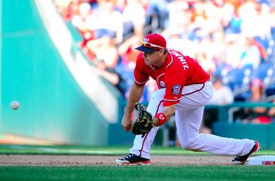 Ryan Zimmerman at first base