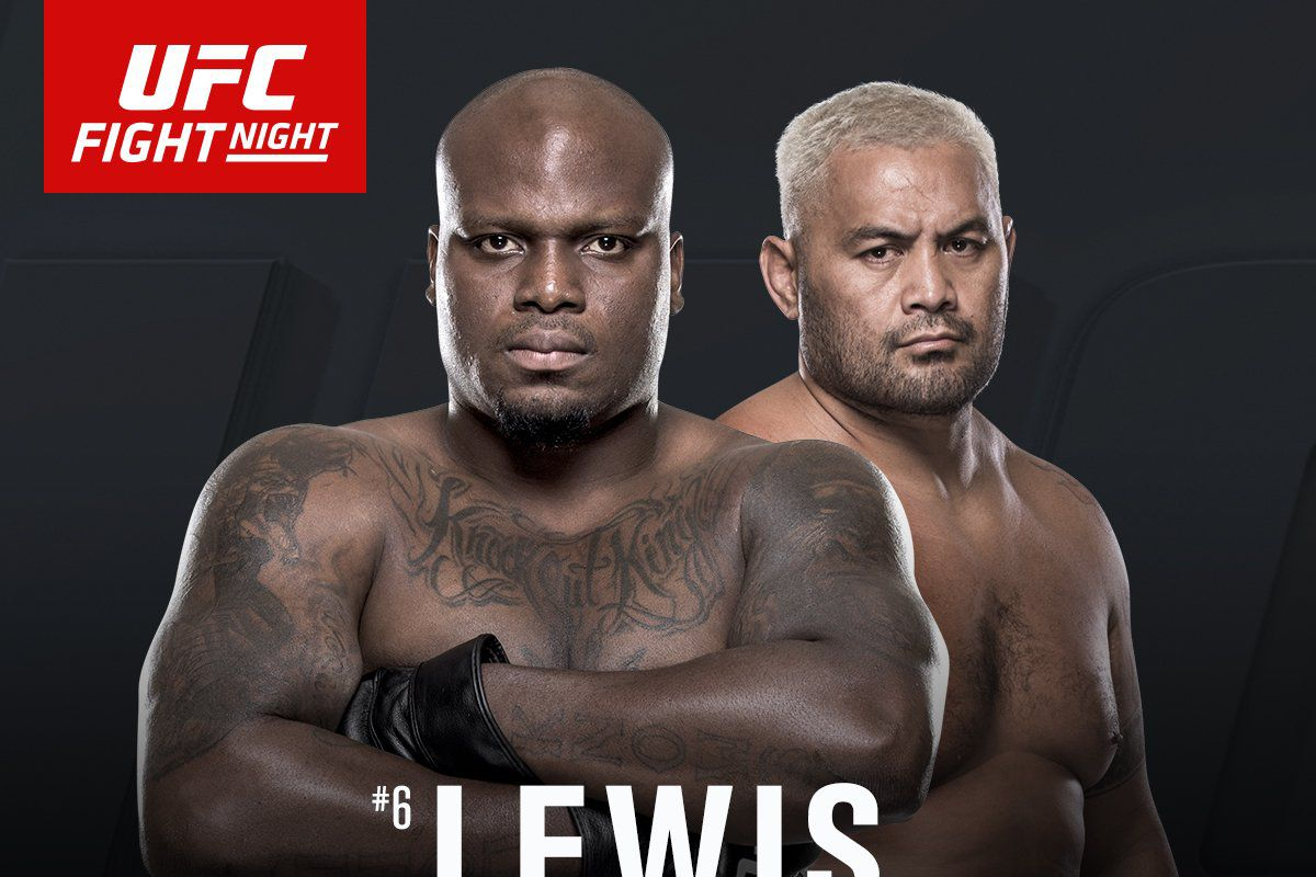 Watch UFC Fight Night 110: Lewis vs. Hunt
