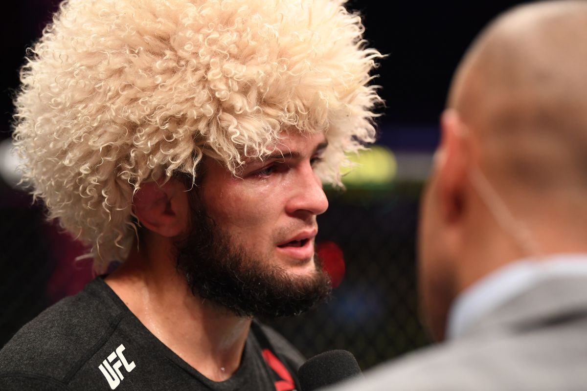 UFC 254: Khabib Nurmagomedov v Justin Gaethje