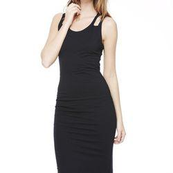 "The vamp-it-up dress. <a href=""http://www.lnaclothing.com/DEVON-DRESS-at-LNA-PID25413-FW1220.aspx"">Devon dress</a>, $81.75 (was $152.00)"