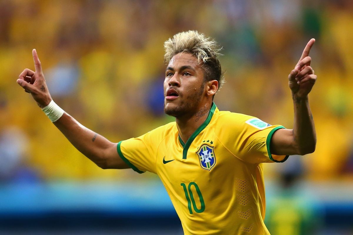 Poster boy Neymar will look to continue his quest for the Golden Boot against Chile.