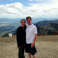 """Craiger Drake, owner, <a href=""""http://philly.racked.com/tags/craiger-drake"""">Craiger Drake</a> (pictured with girlfriend Denise): Jackson Hole is my new favorite Vacation spot. Amazing hikes, fun nightlife, great food, and an occasional trip to a cowboy ba"""