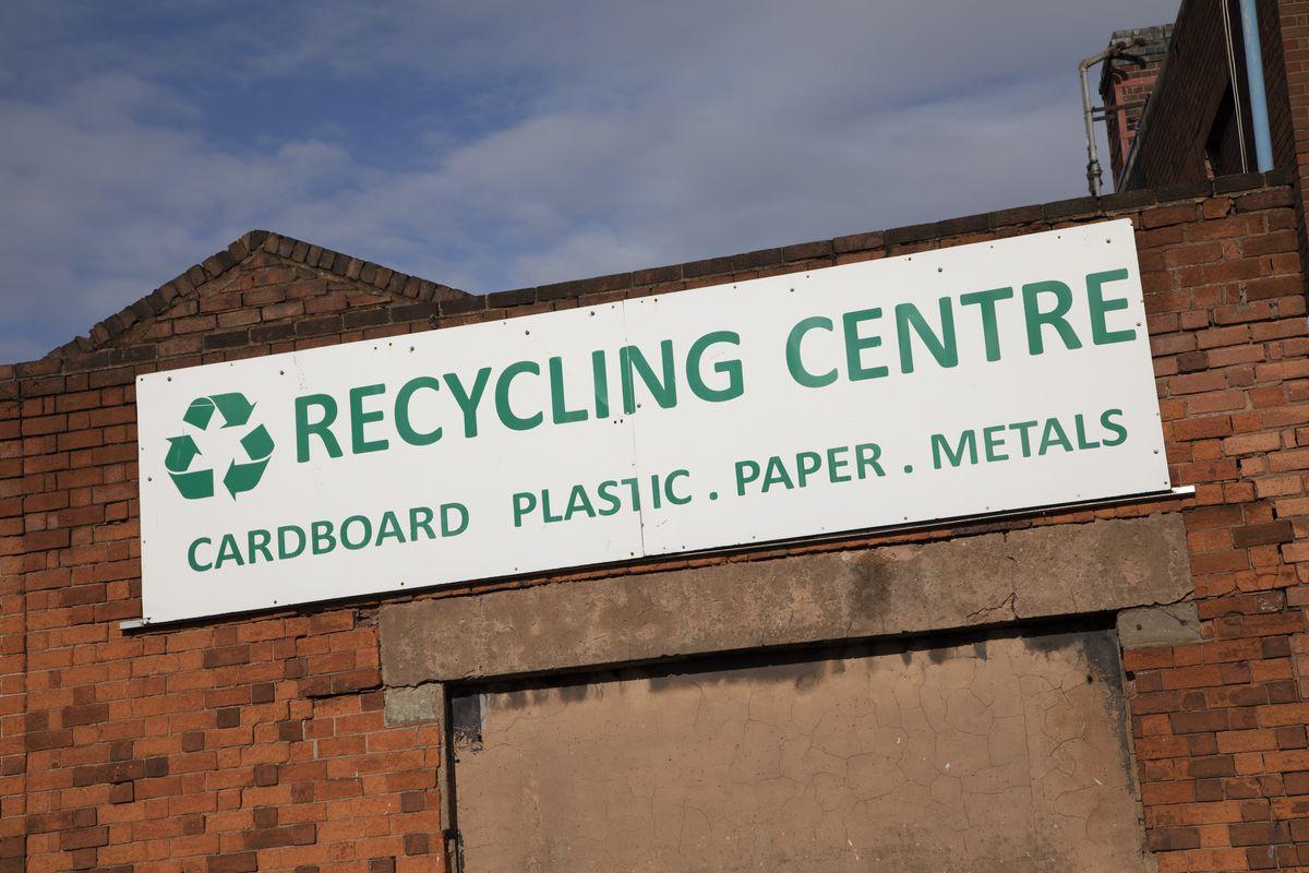 Recycling Centre In Digbeth Birmingham