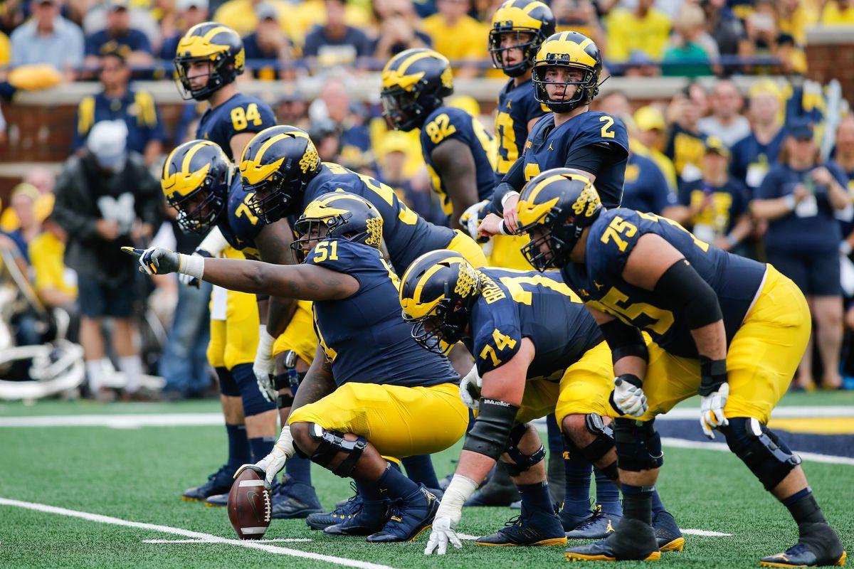 COLLEGE FOOTBALL: OCT 06 Maryland at Michigan