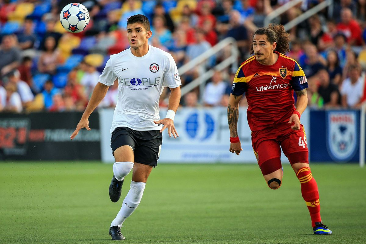 Atlanta Silverbacks claimed a 2-1 win over Real Salt Lake in the 4th Round of the US Open Cup