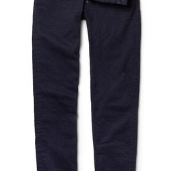 """<strong>Gilded Age</strong> Baxten Slim Jeans in Pure, <a href=""""http://www.gildedagenyc.com/products/baxten-slim-pure"""">$219</a> at Gilded Age South Street Seaport"""