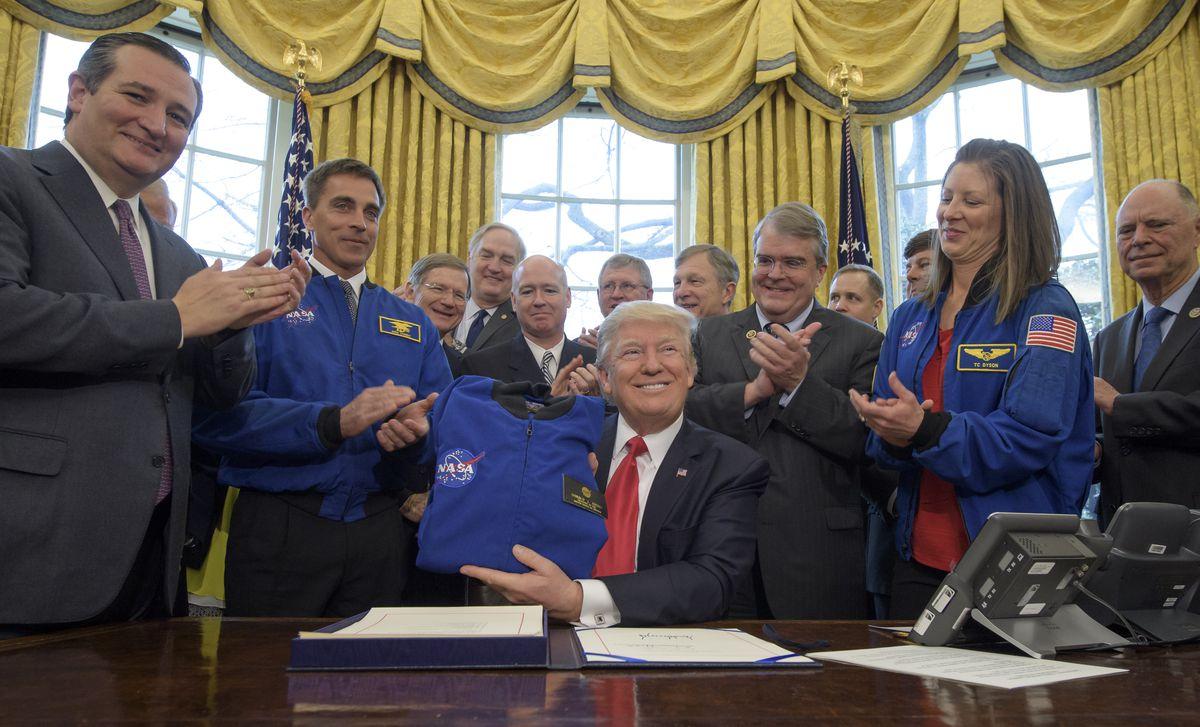 President Trump Signs Bill To Increase Funding To NASA