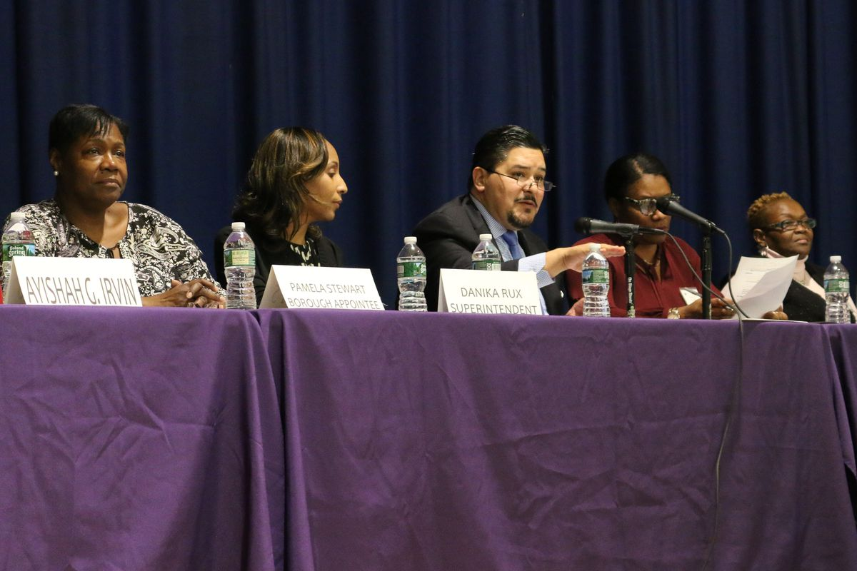 Schools Chancellor Richard Carranza said at a town hall meeting on Monday that the education department would hire 100 community coordinators to work with homeless students.