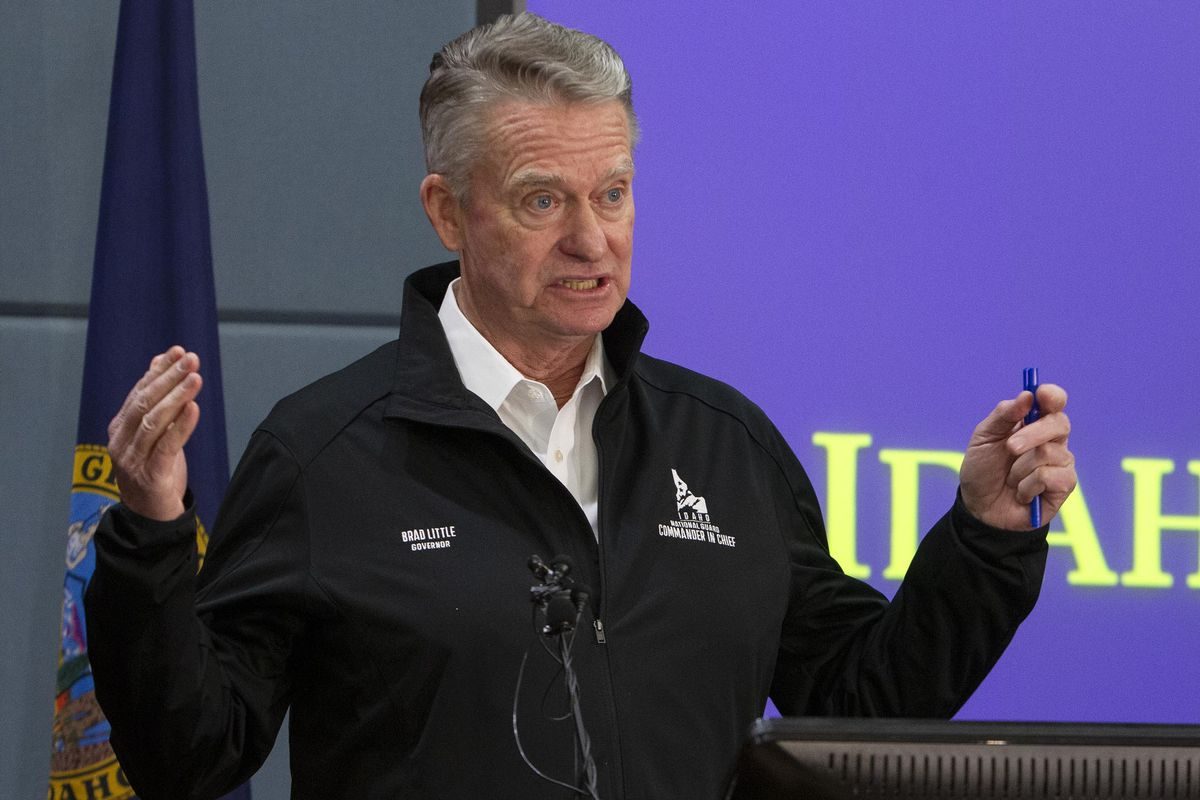 Gov. announces order for Idahoans to stay home
