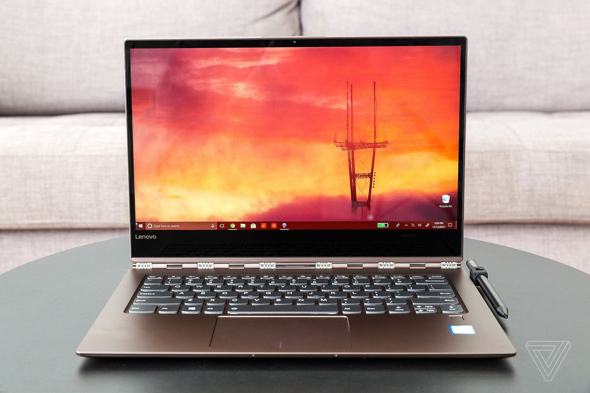 Lenovo Yoga 920 review - The Verge