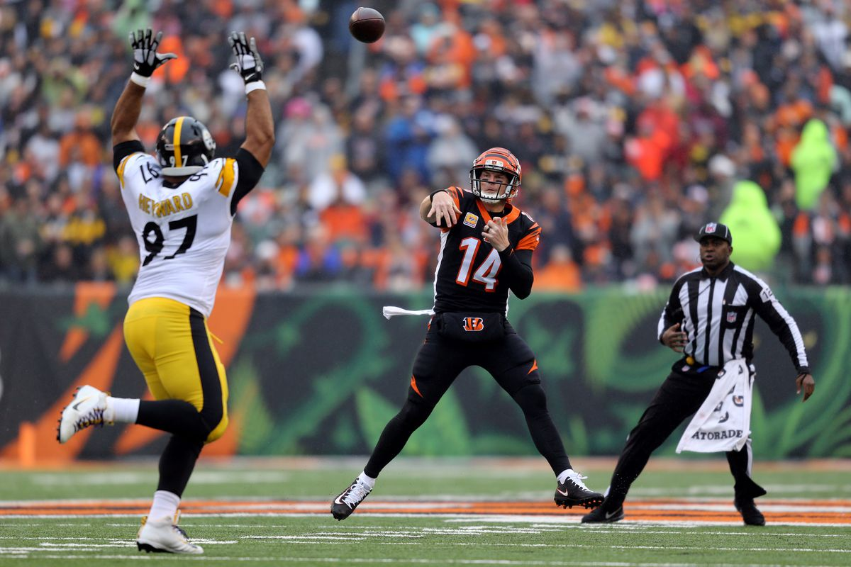 28fe36821 Steelers: Bengals' comeback thwarted by Steelers' final drive heroics