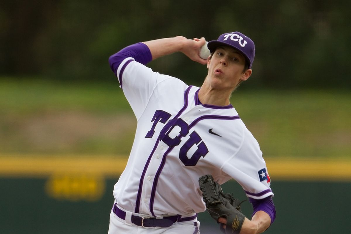 Trey Teakell could be a major factor in the TCU bullpen, combining experience with improving stuff.