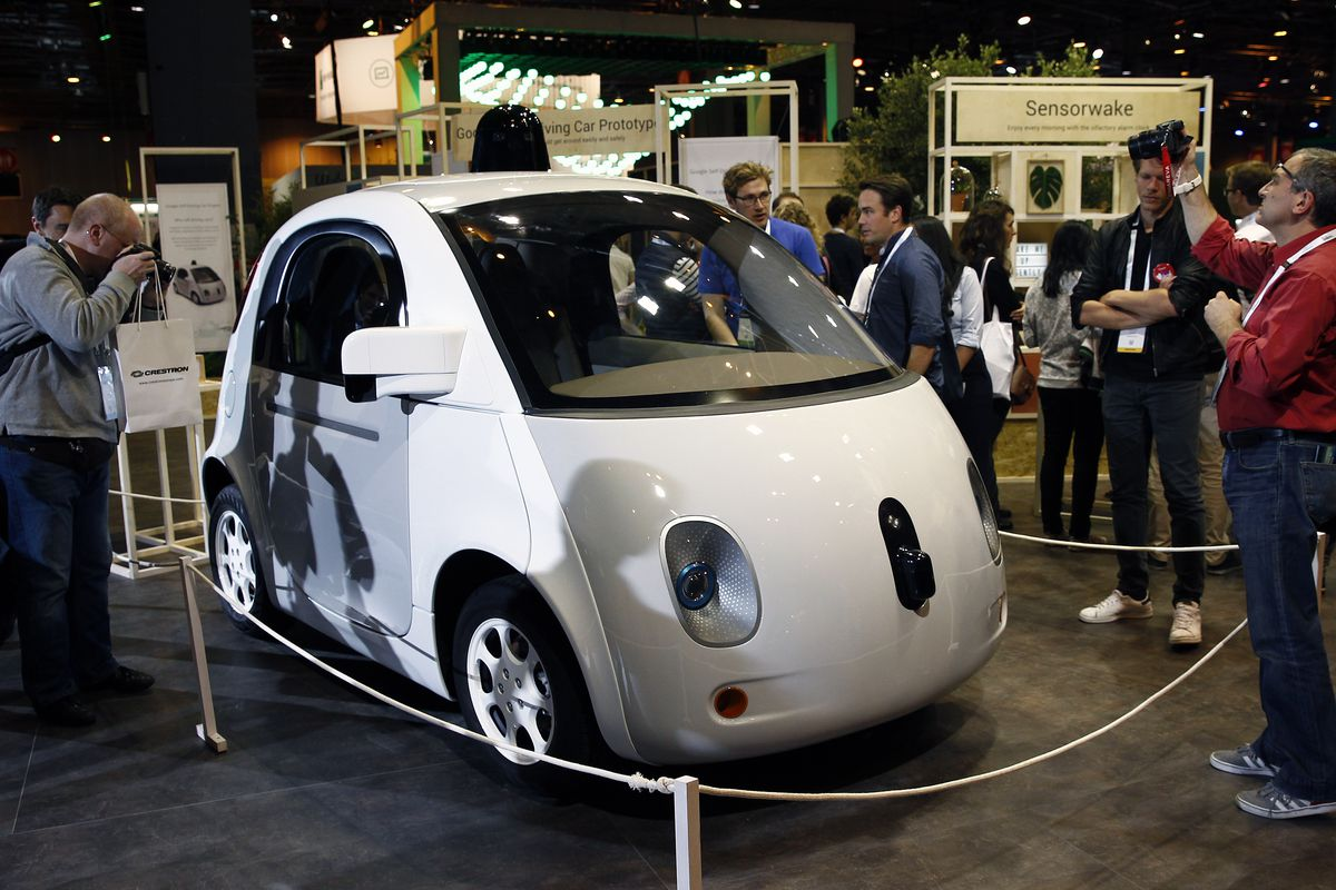 A Google Self Driving Car Project Is Displayed During The Viva Technology Show On June 30 2016 In Paris France Chesnot Getty
