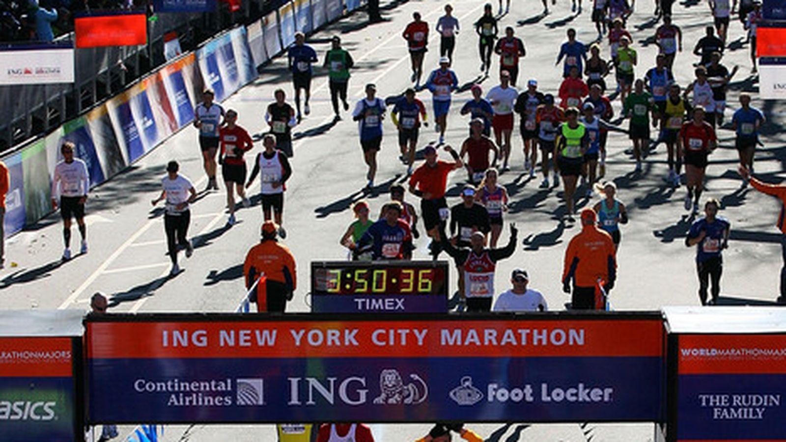 New York City Marathon  Route Information Course Map And - Nyc marathon course map pdf