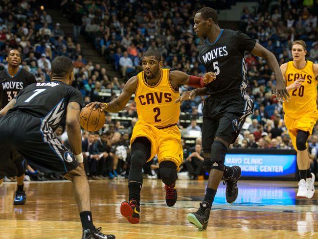 Kyrie Irving (Photo Credit - someone - USA TODAY Sports)