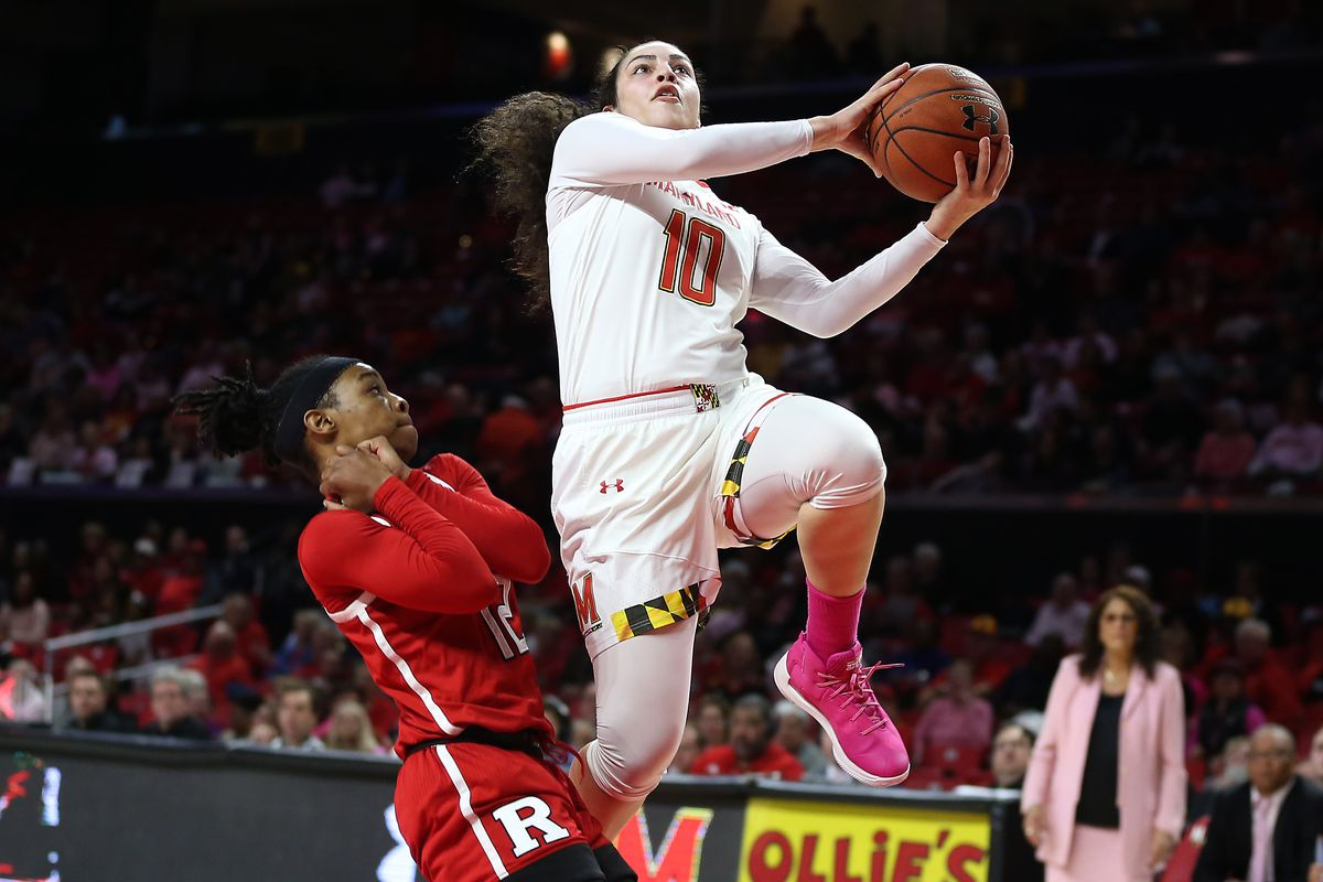 COLLEGE BASKETBALL: FEB 01 Women's - Rutgers at Maryland