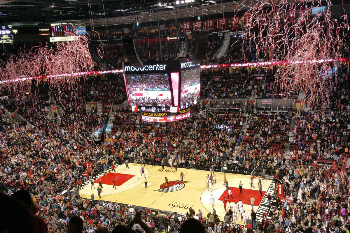 Portland Trail Blazers Arena >> Portland Trail Blazers vs. Los Angeles Lakers In-Arena