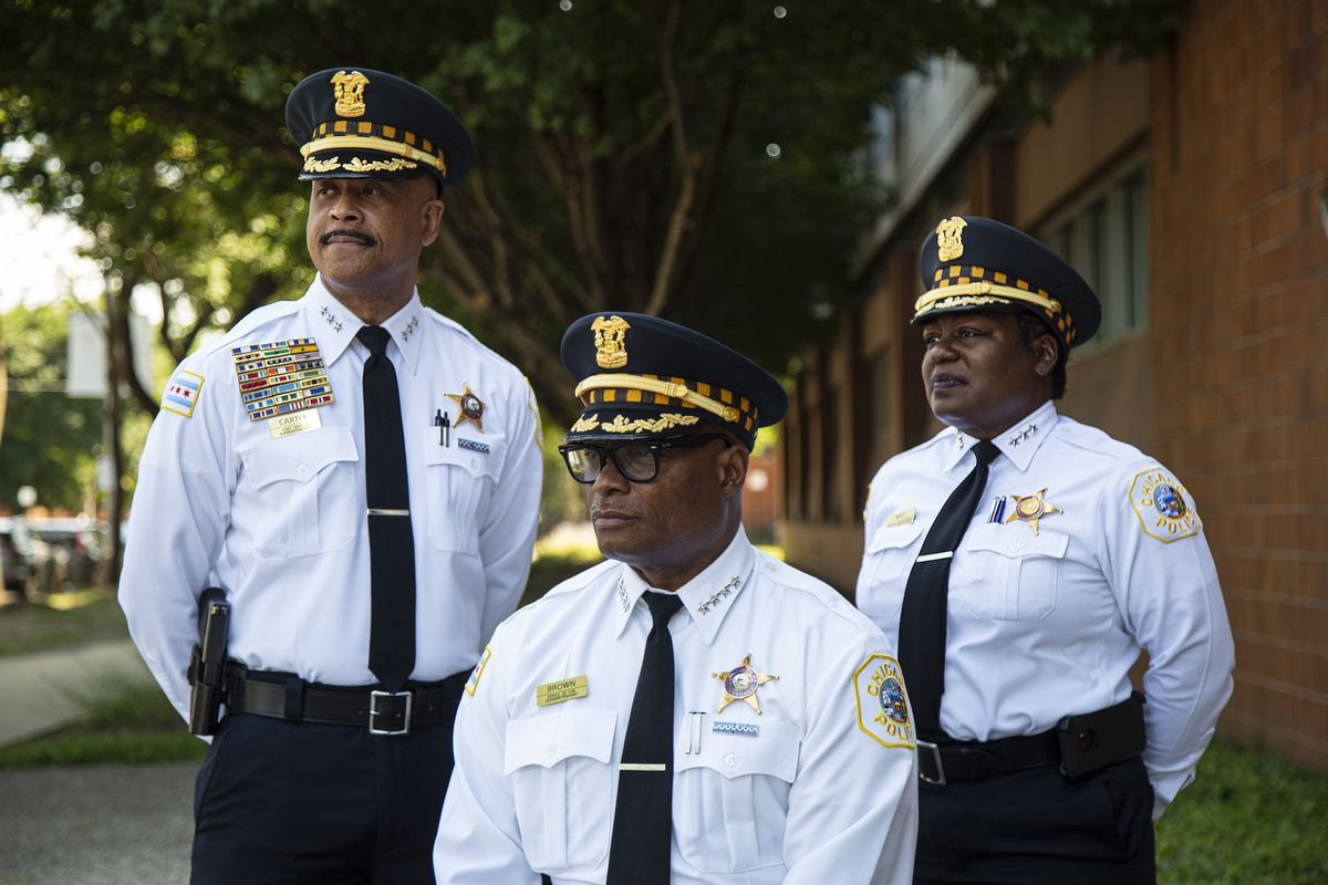 On July 15, the Chicago Police Department quietly made history when 28-year veteran Eric Carter was promoted to 1st Deputy Superintendent. Coming atop the promotion of 20-year veteran Barbara West to Deputy Superintendent in January, it now meant the department's three highest-ranking officers were African-Americans — for the first time in CPD's 184 years. And earlier overlooked was the history made when West became CPD's highest-ranking African-American female officer ever.