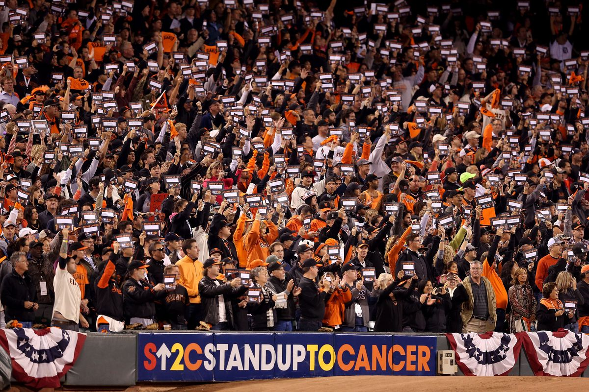 MLB fans honor loved ones who have fought cancer