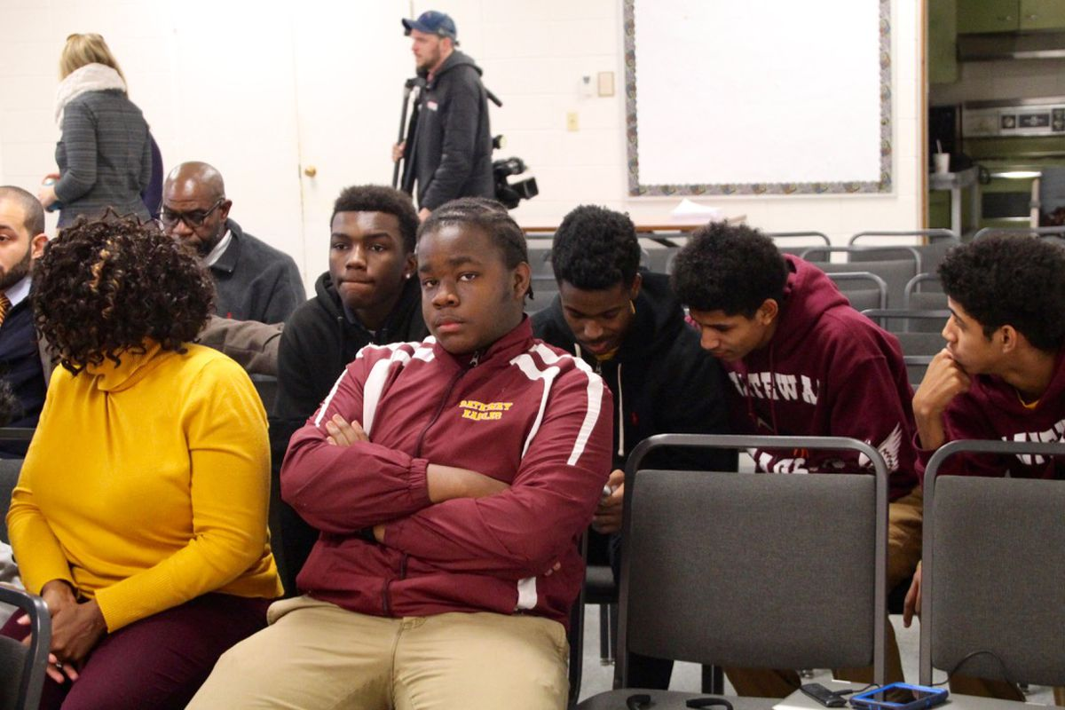 About a dozen Gateway University students and families were in attendance on Monday.