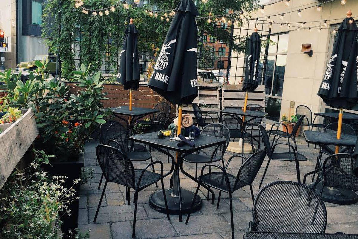 Moonshine 152's patio