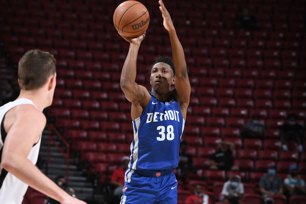 2021 Las Vegas Summer League - Detroit Pistons v Orlando Magic