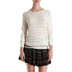 """<b>girl. by Band of Outsiders</b> Crochet Sweater, <a href=""""http://www.barneys.com/girl.-by-Band-of-Outsiders-Crochet-Sweater/501866024,default,pd.html?cgid=womens-sweaters&index=30"""">$345</a>"""