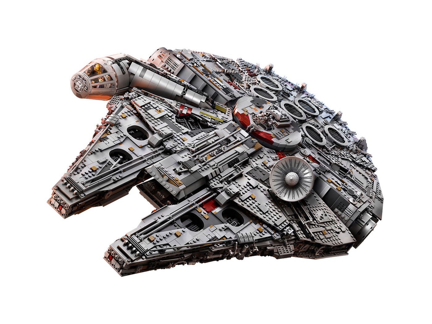 *NEW* 100 Pieces Lego Dark Gray CIRCULAR SAW *BULK*