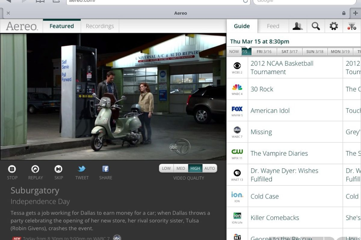 Gallery Photo: Aereo hands-on pictures