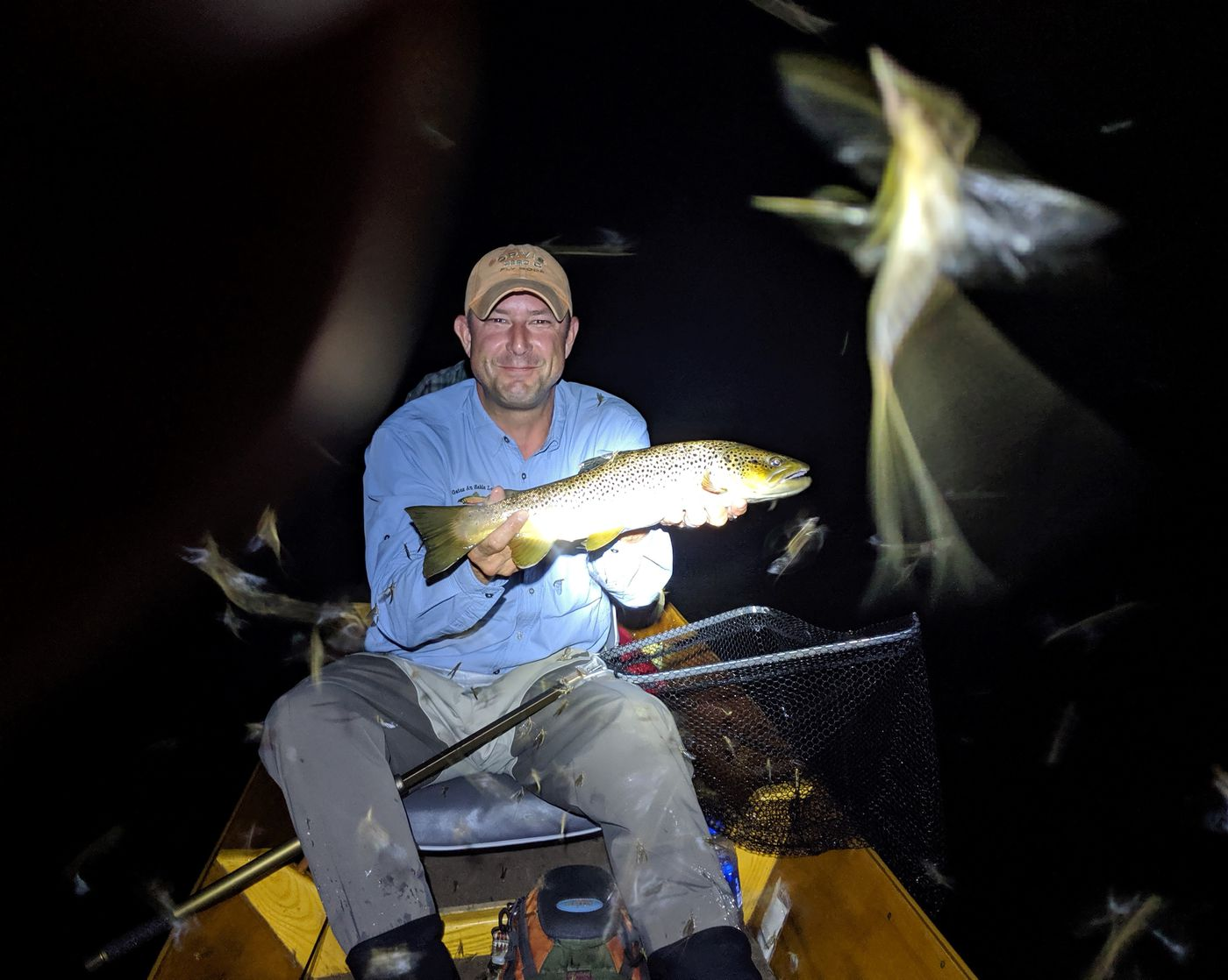 Exploring the magic and history of night fishing for big