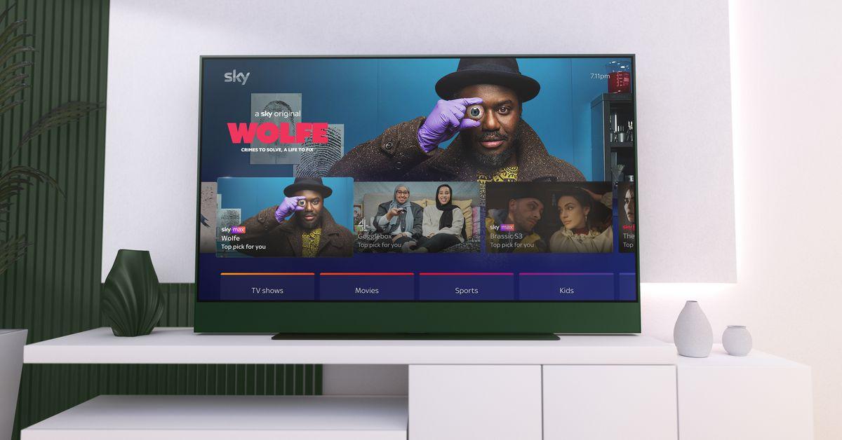 Sky's new Glass TVs skip the satellite dish for Wi-Fi