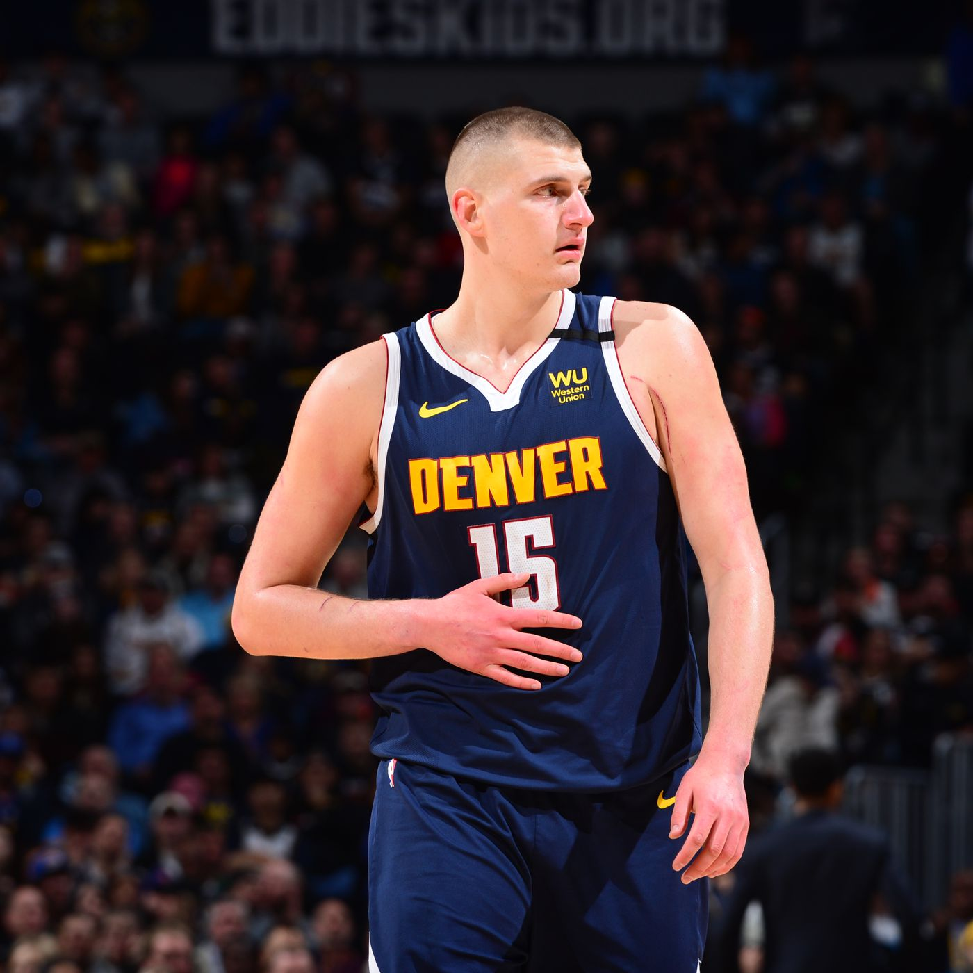 Nikola Jokic Getting Snubbed From The All Star Game Is A Problem Denver Stiffs