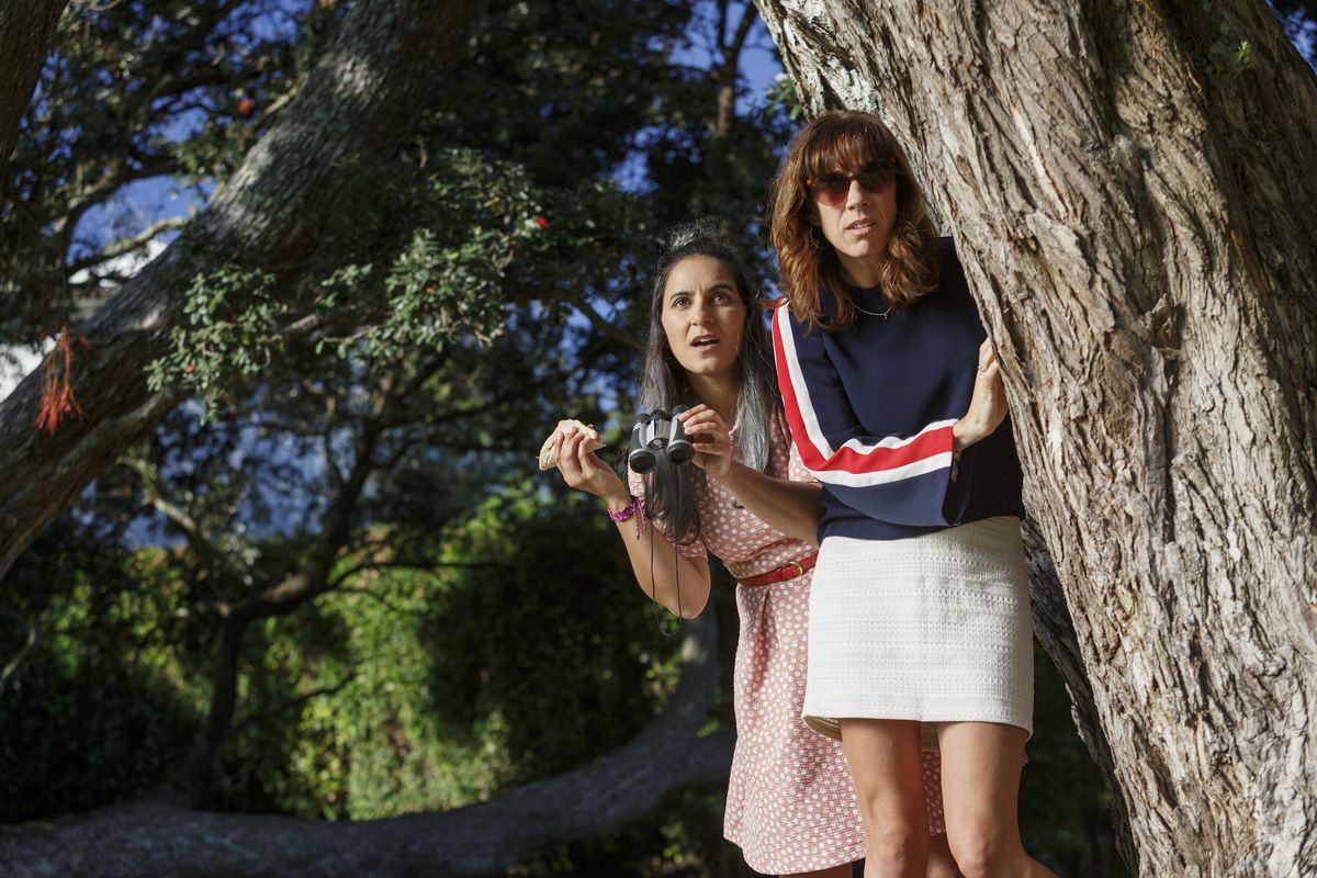 Madeleine Sami and Jackie van Beek in The Breaker Upperers.