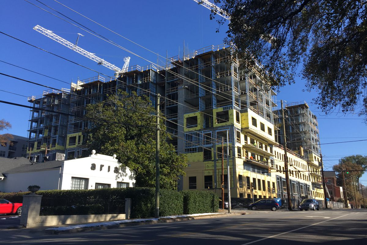 Gables Buckhead construction spreads density eastward in Buckhead ...