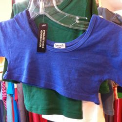 Here's the toddler-size Splendid crop-top we were talking about