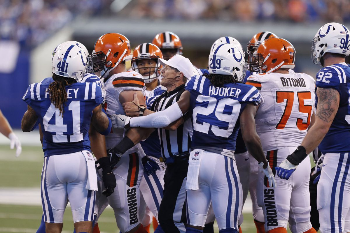 NFL: Cleveland Browns at Indianapolis Colts