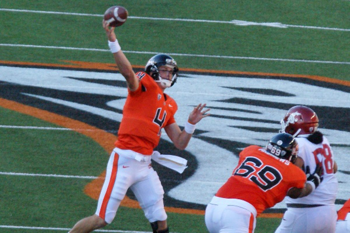 Sean Mannion and Josh Andrews will both be in the Oregon St. starting lineup Saturday, and both will probably figure prominently in the outcome.