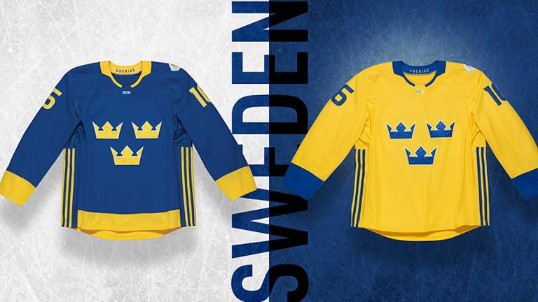 2713d4f59bb Sweden normally wears the predominantly yellow sweater as their designated  first jerseys