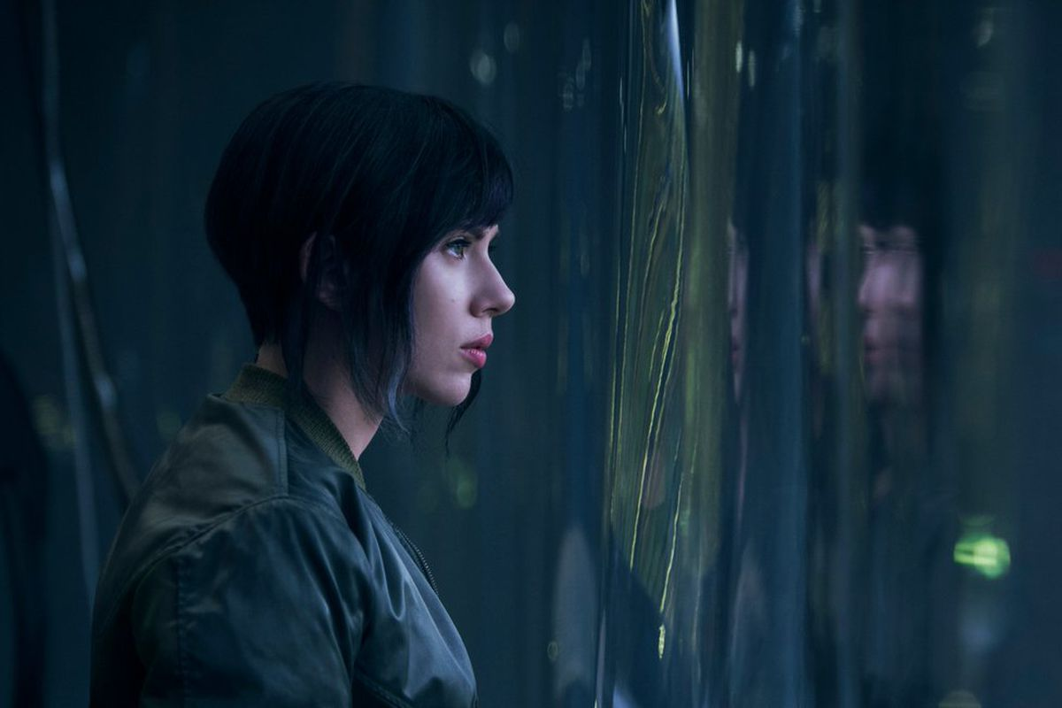Ghost in the Shell promotional image