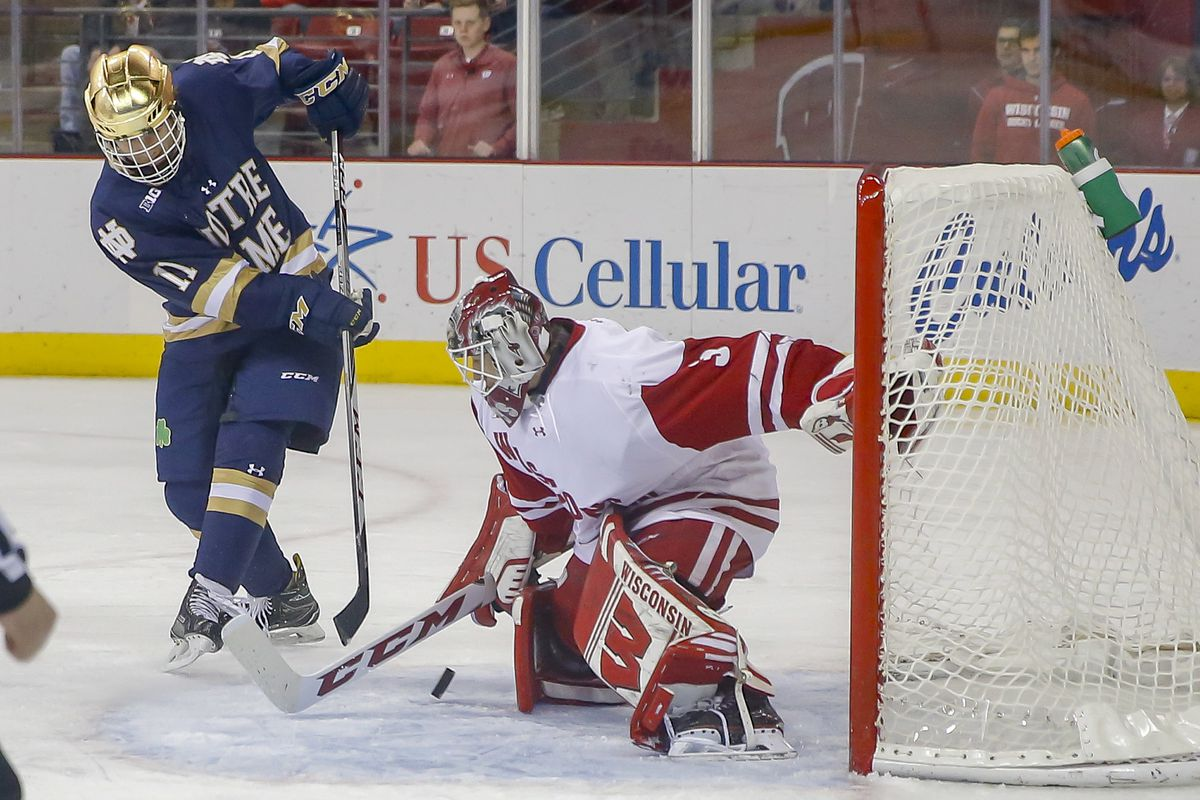 COLLEGE HOCKEY: DEC 09 Notre Dame at Wisconsin